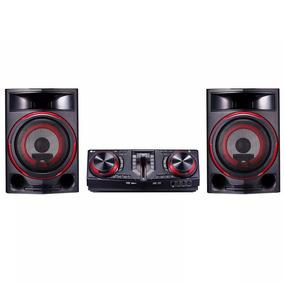 Mini System Lg 1800w Rms Bluetooth - Cj87.