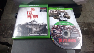 The Evil Within Completo Para Xbox One,excelente Titul
