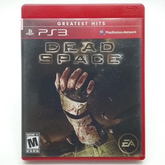Dead Space 1 Ps3 Mídia Física Original Ótimo