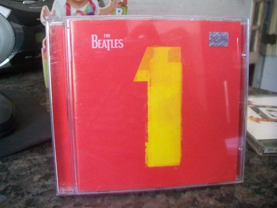 Cd The Beatles 1 - Encarte Tipo Mini Revista