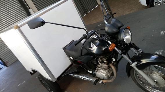 Triciclo De Carga Com Baú Térmico