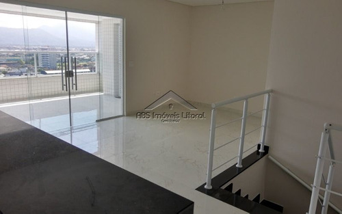 Imagem 1 de 15 de Apartamento 2 Dormitórios Com Suíte Na Vila Caiçara Na Praia Grande - Sp