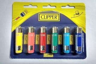 Encendedor Clipper X 6 Unidades Soundgroup Palermo