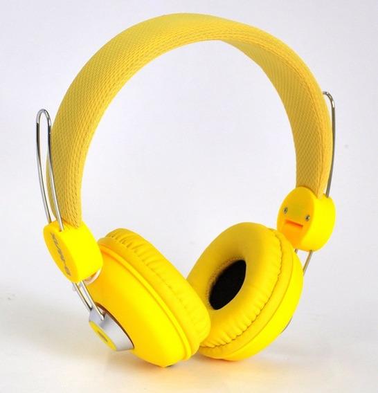 Fone De Ouvido Headset C/ Microfone P/ Celular Notebook Amar