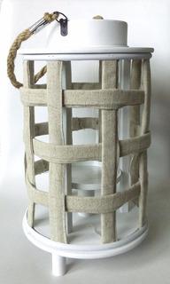 Candelero Colgante Cilíndrico Accesorio Decoración Interior