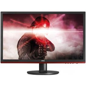Aoc Monitor Gamer G2260vwq6 - Led 21,5 Wide, Preto/vermelho