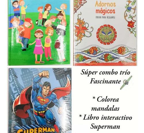 Imagen 1 de 1 de Súper Combo-trio, Para Niños Y Niñas, A Todo Color