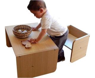 2 Muebles Montessori (silla, Escritorio) - Oferta Reyes