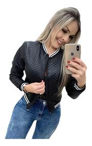 Jaqueta Casaco Feminino Blusa De Frio Outono Inverno Bomber