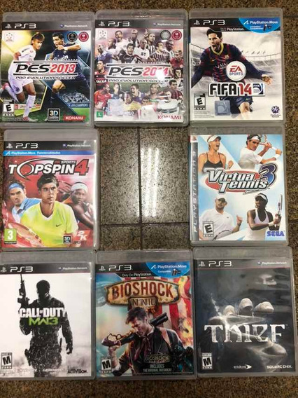 Jogos Ps3 Semi Novos:fifa, Thief, Bioshock, Call Of Duty