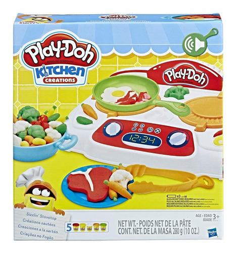 Creaciones De Cocina Sizzlin Play-doh, Original, Importado
