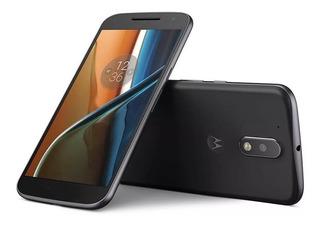 Celular Moto G4 Xt1626 16gb Preto, Câm 13mp (vitrine)
