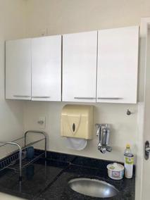 Armário Mdf Cozinha Branco - Semi Novo