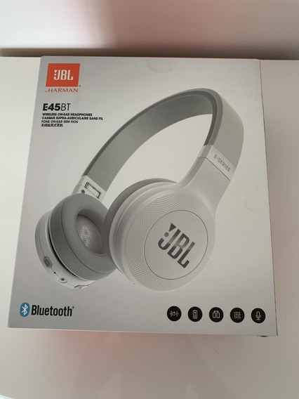 Fone Bluetooth Jbl E45bt Branco