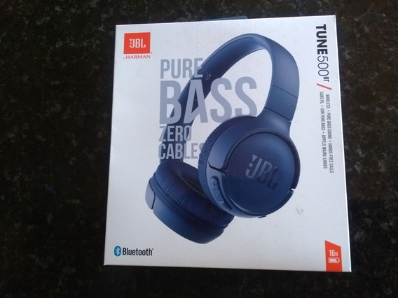 Fone Jbl 500 Bt Zero Cable Harman Original Bluetooth