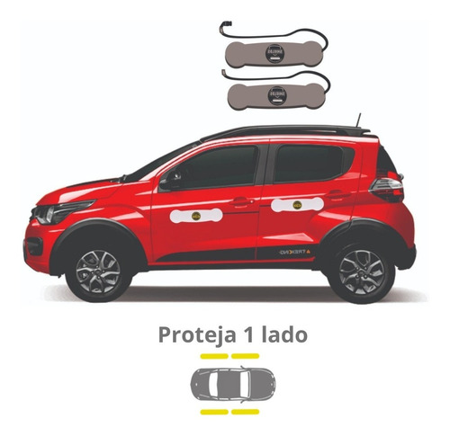 Imagem 1 de 4 de Protetor De Porta Magnético Para Carros Shields - Compact