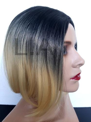 Peruca Lace Wig Chanel Repartição Fixa Similar Ao Humano