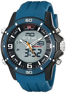 Us Polo Assn. Reloj Deportivo Analógico-digital Us9493 Par