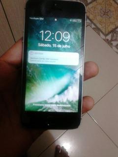 Vendo Um iPhone 5s Usado Mas Funcionando Perfeitamente