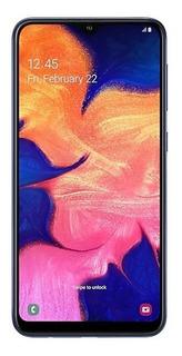 Samsung Galaxy A10 Azul 32gb Tela Infinita De 6,2 Vitrine