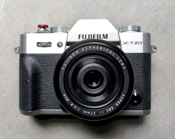 Câmera Fujifilm X-t20 Fuji Com Lente Xf 27mm 2.8 X-t2 X-t30