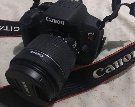 Câmera Canon T5i Usada Perfeita + Lente 18-55