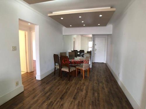 Imagem 1 de 19 de Apartamento Com 3 Dormitórios À Venda, 156 M² Por R$ 790.000,00 - Ponta Da Praia - Santos/sp - Ap0947
