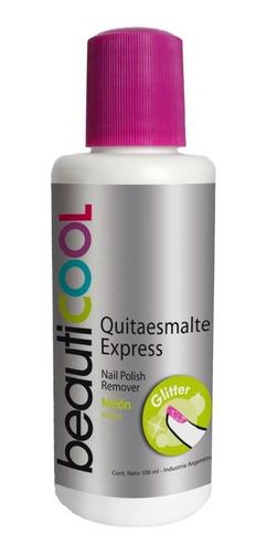 Venta Por Unidad - Quitaesmalte Glitter Botella
