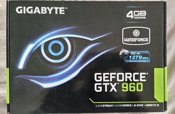 Gtx 960 Oc Edition 4gb Gigabyte