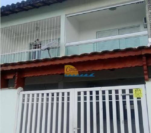 Casa Com 2 Dormitórios À Venda, 1 M² Por R$ 235.000,00 - Tude Bastos (sítio Do Campo) - Praia Grande/sp - Ca5062