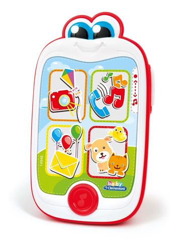 Telefono Celular Para Bebe Con Sonido Y Luces