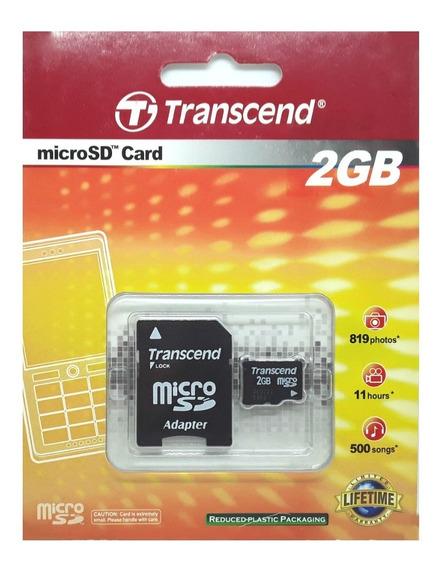 Cartão De Memória Micro Sd 2gb Tf / R002 Tr