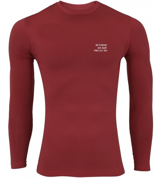 4 Camisas Térmicas Segunda Pele Proteção Solar Uv50 Promoção