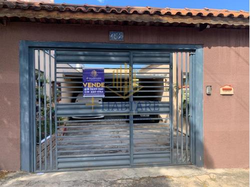 Imagem 1 de 13 de Casa Para Venda Em Hortolândia, Jardim Nossa Senhora Auxiliadora, 2 Dormitórios, 1 Banheiro, 4 Vagas - Casa 549_1-1853782