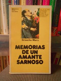 Memorias De Un Amante Sarnoso Groucho Marx Novela Humorismo