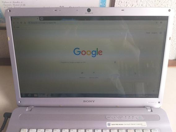 Notebook Sony Vaio 15,5