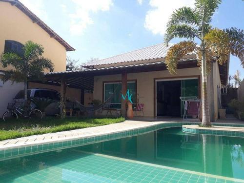 Imagem 1 de 23 de Casa Com 3 Dormitórios, 198 M² - Venda Por R$ 715.500 Ou Aluguel Por R$ 4.000/mês - Campo Grande - Rio De Janeiro - Rj - Ca0689