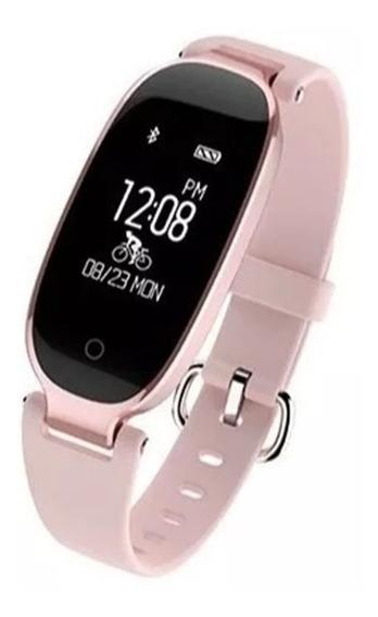 Smartwatch Reloj Inteligente Ritmo Cardiaco Para Mujer