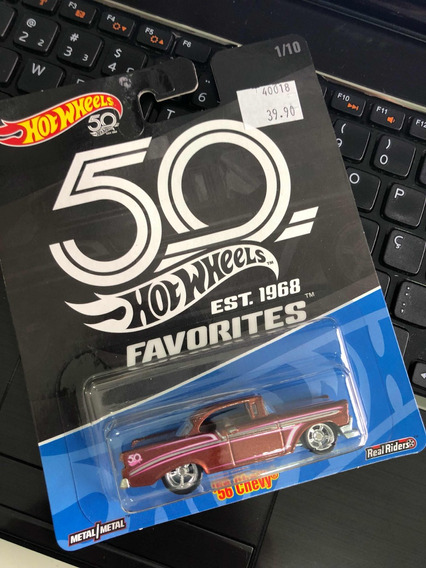 56 Chevy Favorites 50 Anos Hot Wheels