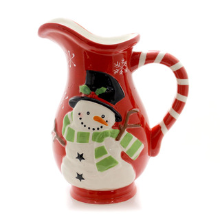 Tabletop Tablero Snowman Winter S Pitcher
