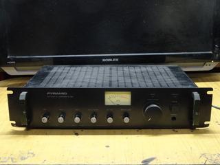 Amplificador Pyramid 200 Watts W / Mic Mezclador Para Dj Sys