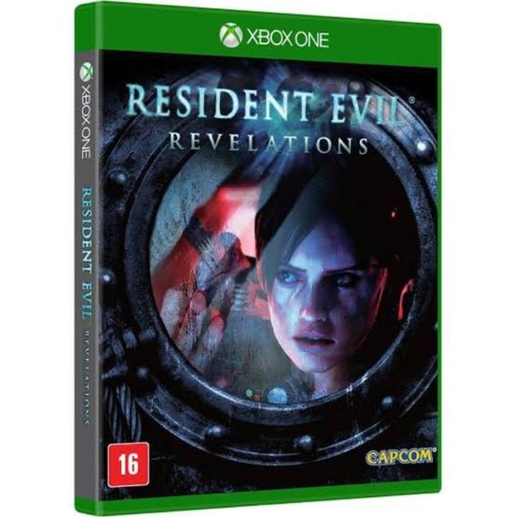 Resident Evil Revelations Xbox One Original Novo Lacrado