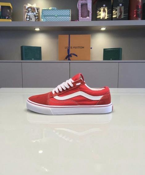 Tênis Vans Old Skool - Vermelho