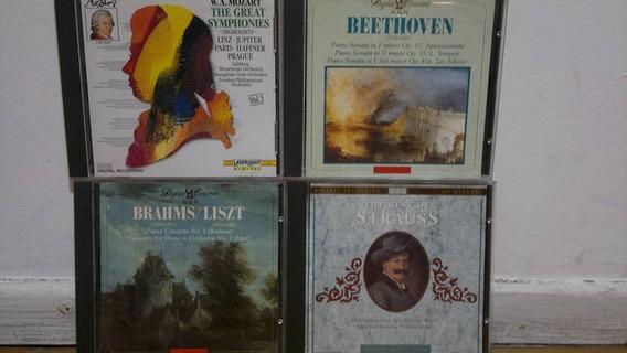 Lote 5 Cds Musica Clasica