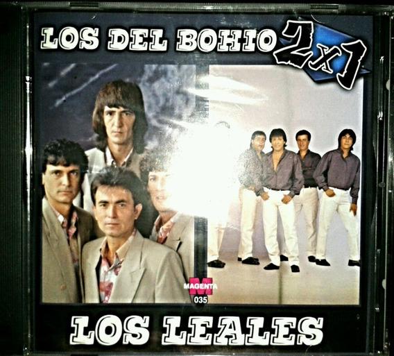Los Del Bohio / Los Leales - Cd Nuevo Sellado