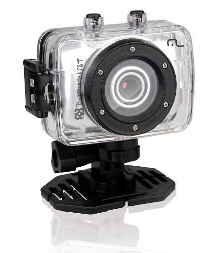 Câmera De Ação Hd Bob Burnquist 14 Mp Com 4x Zoom Digital
