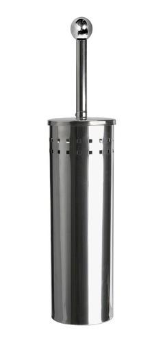 Imagen 1 de 2 de Cepillo Inodoro Metalico Inoxidable 741 Baño Hogar Taza Aseo