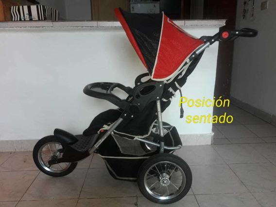 Cochecito Para Bebé Running 3 Ruedas (para Correr)
