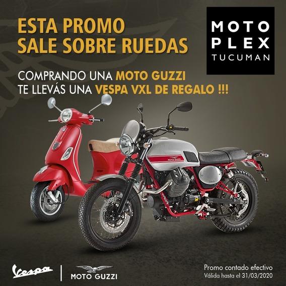 Moto Guzzi V7 Stornello Promo + 1 Vespa Vxl De Regalo!!!