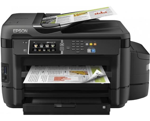 Impressora Multifuncional Epson L1455 1455 Ecotank A3